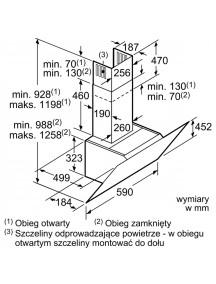 Вытяжка Bosch DWK67CM20