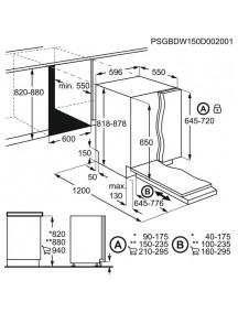 Встраиваемая посудомоечная машина Electrolux EES47320L