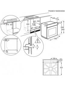 Духовой шкаф Electrolux OED3H50TX