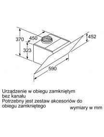 Вытяжка Bosch DWK67CM60