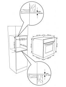 Духовой шкаф Kernau KBO 0965 SK X