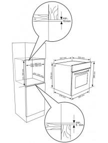 Духовой шкаф Kernau KBO 0974 SV PT X