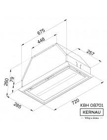 Вытяжка Kernau KBH 08701 X