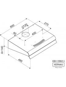 Вытяжка Kernau KBH 0960.1 X