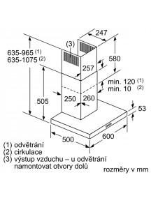 Вытяжка Siemens LC66BBM50