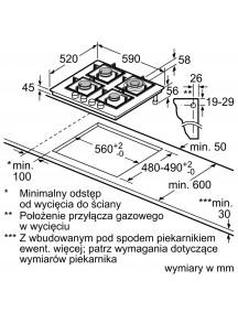 Варочная поверхность Bosch PNH6B6B90