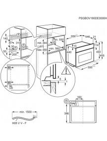 Встраиваемая микроволновая печь Electrolux EVK8E00V