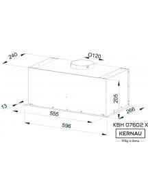 Вытяжка Kernau KBH 07602 X