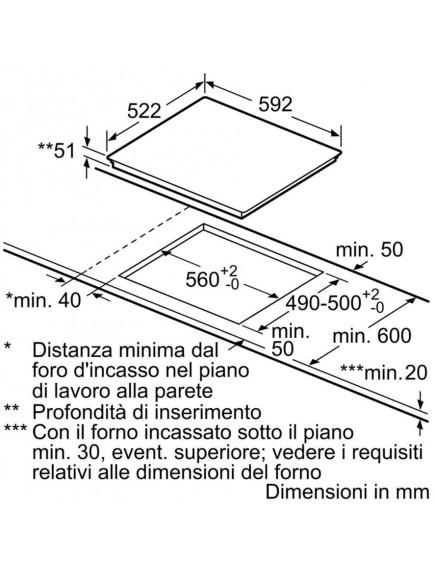 Варочная поверхность Bosch PUE612FF1J