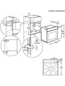 Духовой шкаф Electrolux EOA5454TOX