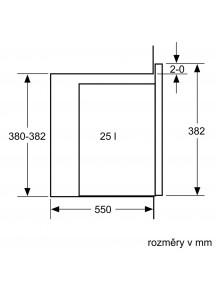 Встраиваемая микроволновая печь Bosch BFL 550MS0