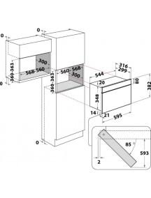 Встраиваемая микроволновая печь Whirlpool AMW4920IX