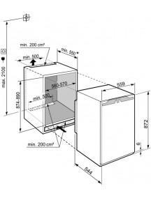 Встраиваемая морозильная камера Liebherr IGN 1624