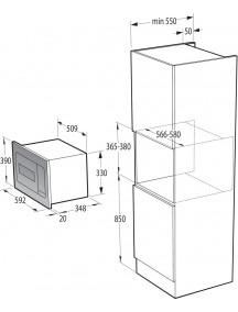 Встраиваемая микроволновая печь Gorenje BM 235 SYB