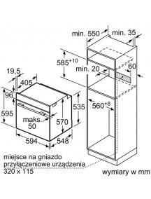 Духовой шкаф Bosch HBA534BW0