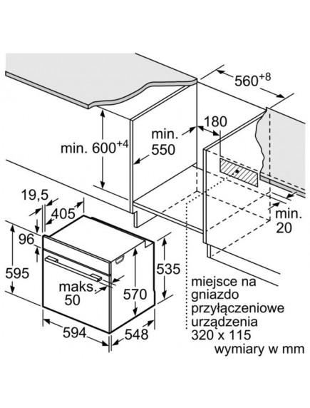 Духовой шкаф Bosch HRG5584S1
