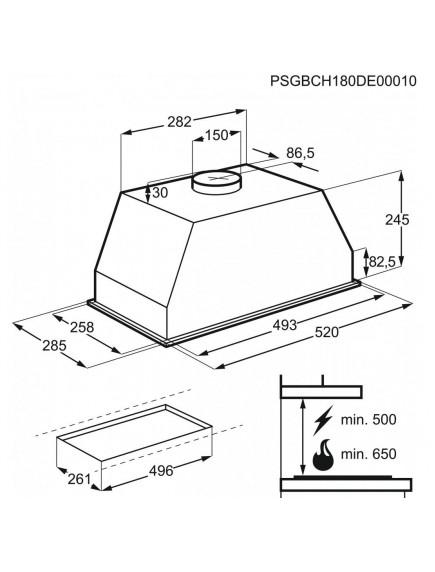 Вытяжка Electrolux LFG525K