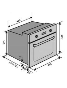 Духовой шкаф VENTOLUX MUNCHEN 6 TC (BK)