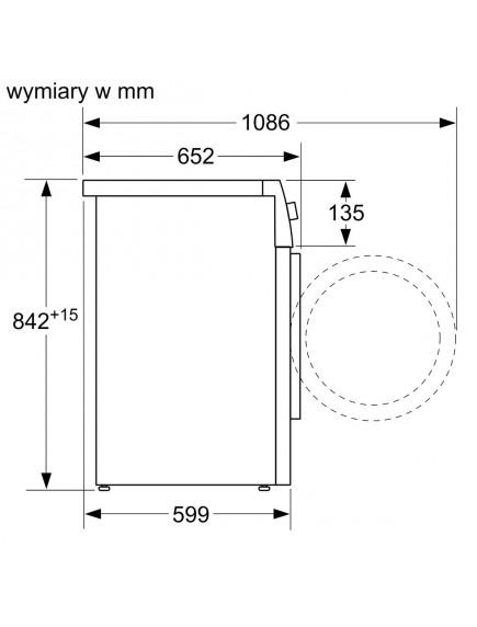Сушильная машина Bosch WTX87MH0PL