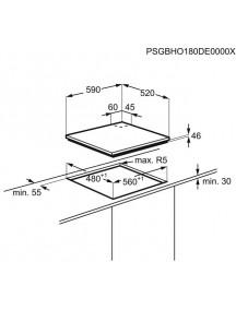 Варочная поверхность Electrolux EGG 6426 SK