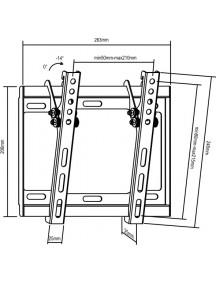 Настенное крепление Brateck LP 34-22T
