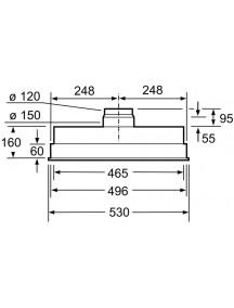 Вытяжка Siemens LB55565