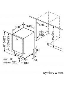 Встраиваемая посудомоечная машина Bosch SPV4EKX20E