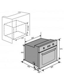Духовой шкаф VENTOLUX BRISTOL 6 MT (WH)