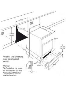 Встраиваемая морозильная камера AEG ABB682F1AF