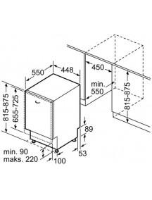 Встраиваемая посудомоечная машина Bosch SPV4EKX60E