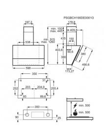 Вытяжка Electrolux LFV616K