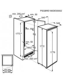 Встраиваемая морозильная камера Electrolux LUT6NF18S