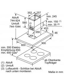 Вытяжка Siemens LF98BIR55