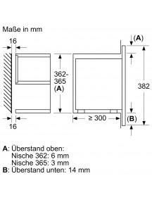 Встраиваемая микроволновая печь Siemens BF 834LGB1