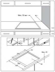 Варочная поверхность Samsung NZ64T3516AK/WT
