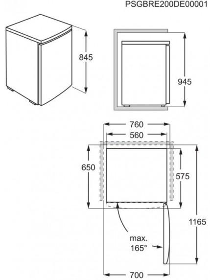 Морозильная камера Electrolux LYB1AE8W0