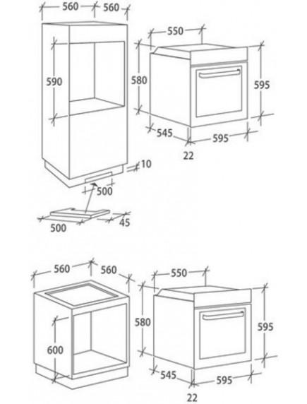 Духовой шкаф Candy FCT 825 WXL