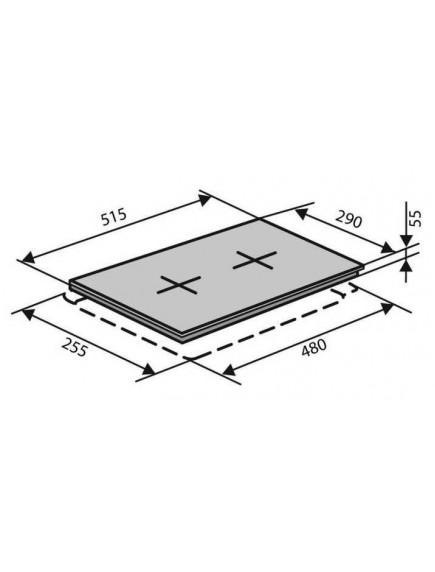Варочная поверхность VENTOLUX HSF 320 S (X) 3