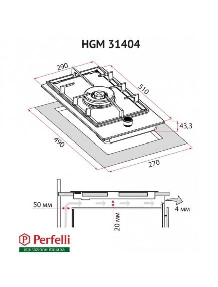 Варочная поверхность Perfelli HGM 31404 I