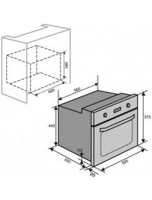 Духовой шкаф VENTOLUX TOLEDO 6 MT (WH)