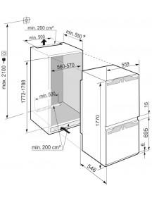 Встраиваемый холодильник Liebherr  ICNf 5103