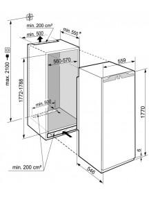 Встраиваемый холодильник Liebherr  IRBdi 5171