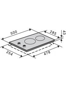Варочная поверхность VENTOLUX HG 320 CEST (X) 7
