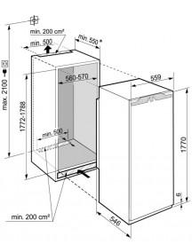 Встраиваемый холодильник Liebherr IRBe 5121