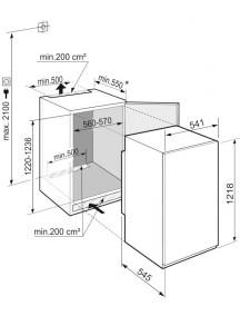 Встраиваемый холодильник Liebherr IRSe 4101