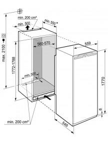 Встраиваемый холодильник Liebherr  IRBdi 5151