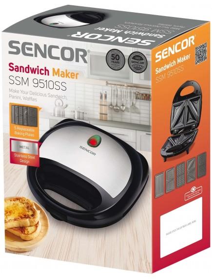 Бутербродница Sencor SSM 9510SS