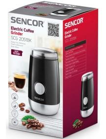 Кофемолка Sencor SCG 2051 BK