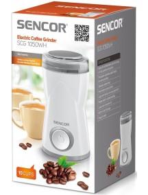 Кофемолка Sencor SCG1050WH