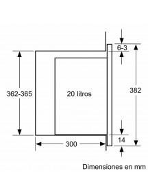 Встраиваемая микроволновая печь Siemens BF520LMR0